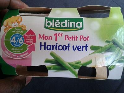 Mon 1er petit pot Haricot vert - Product - fr