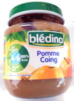Compote pomme coing - Produit - fr