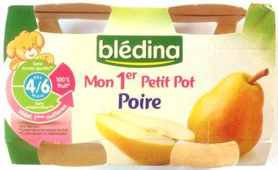 Mon 1er Petit Pot Poires - Produit - fr