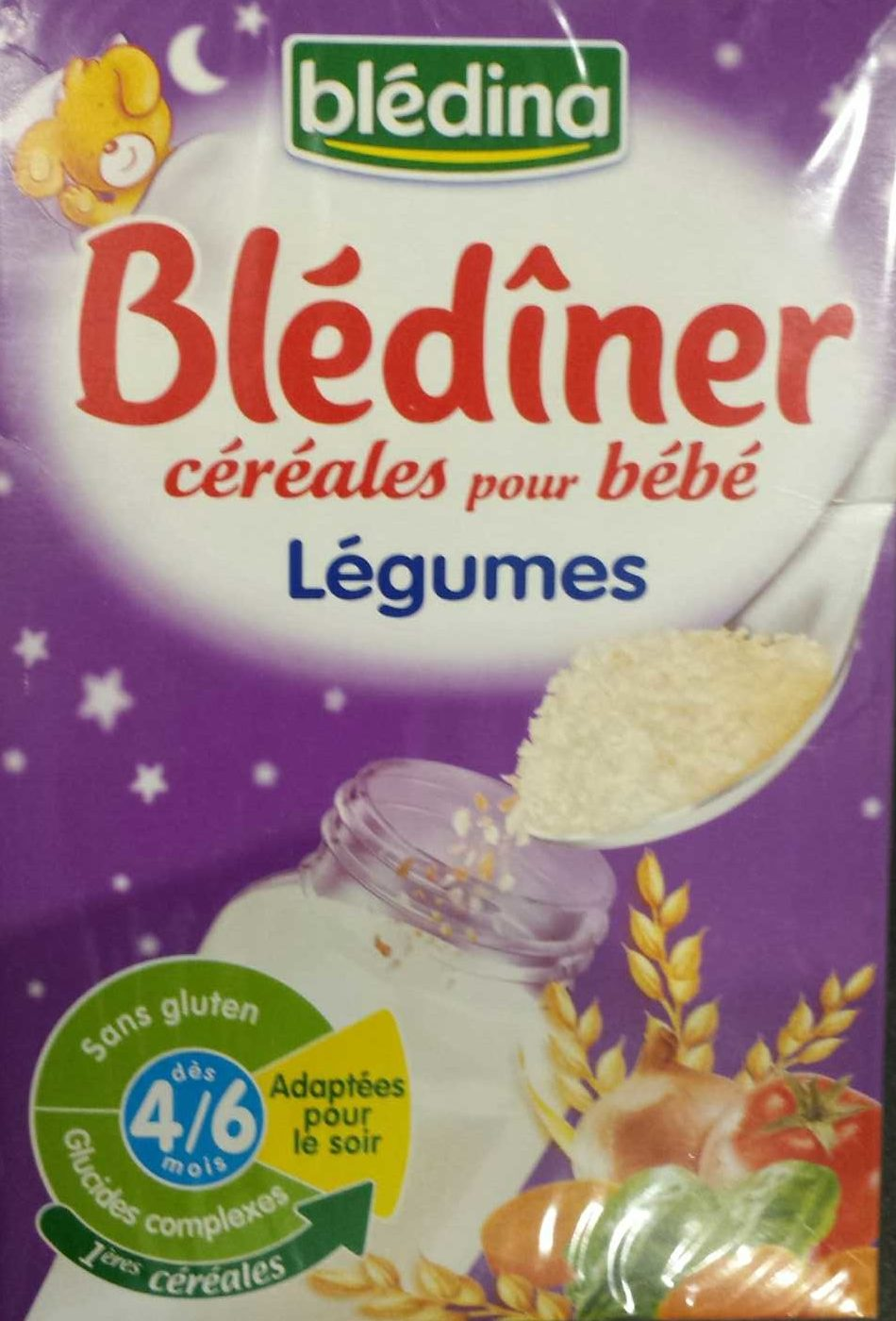 Céréales pour bébé aux légumes - Produit - fr