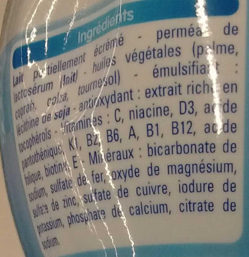Croissance 3 - Ingrediënten - fr