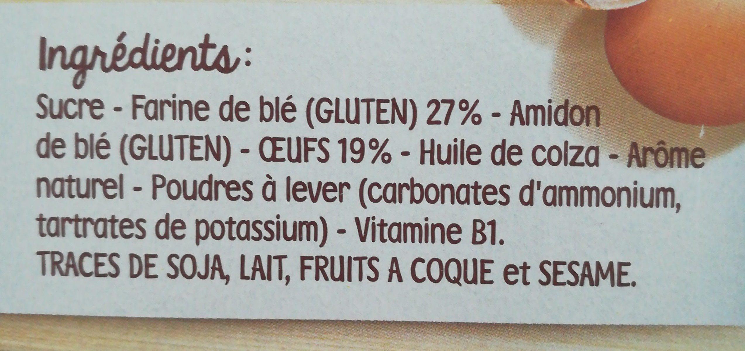 Mon 1er boudoir - Ingredients - fr