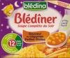 Soupe complète du soir Douceur de Légumes Petites Etoiles - 500 ml - Blédîner - Produit