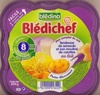 Blédichef - Tendresse de semoule et son mouliné de carottes au lait - Product