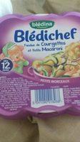 Blédichef fondue de courgettes et petits macaroni - Produit
