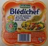 Blédichef Sauté de pommes de terre, Petits pois et Veau - Product
