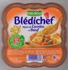 Blédichef Mijoté de carottes et boeuf - Produit