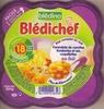 Blédichef, Farandole de carottes fondantes et ses coquillettes au lait - Produit