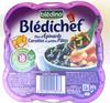 Blédichef Duo d'épinards carottes et petites pâtes - Produit