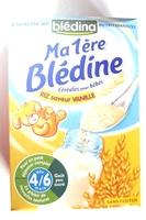 Ma 1ère Blédine Céréales pour bébés RIZ saveur VANILLE - Produit