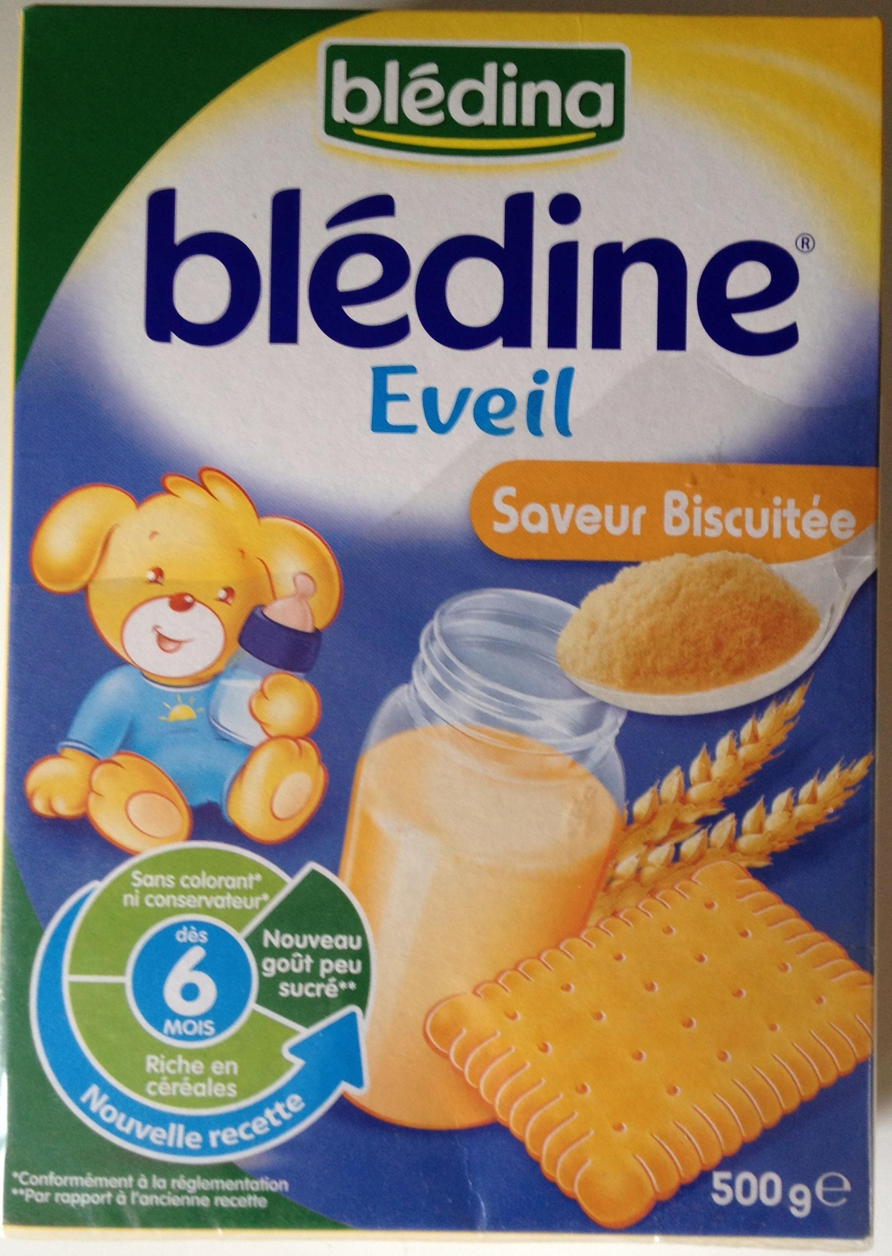Blédine Éveil Saveur Biscuitée - Produit