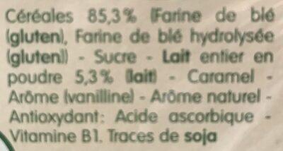 Blédine Éveil Saveur Biscuitée - Ingrédients