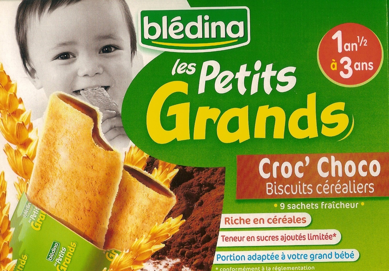 Les Petits Grands - Croc' Choco - Product - fr
