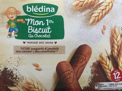 Mon 1er biscuit au chocolat - Product