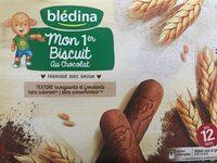 BLEDINA Mon 1er Biscuit Chocolat 180g Dès 12 mois - Product - fr