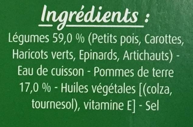 Jardinière de légumes - Ingredients - fr