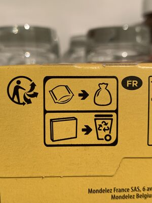 Cracotte Chocolat - Recycling instructions and/or packaging information - fr