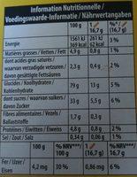 Cracotte Fraise - Informations nutritionnelles - fr