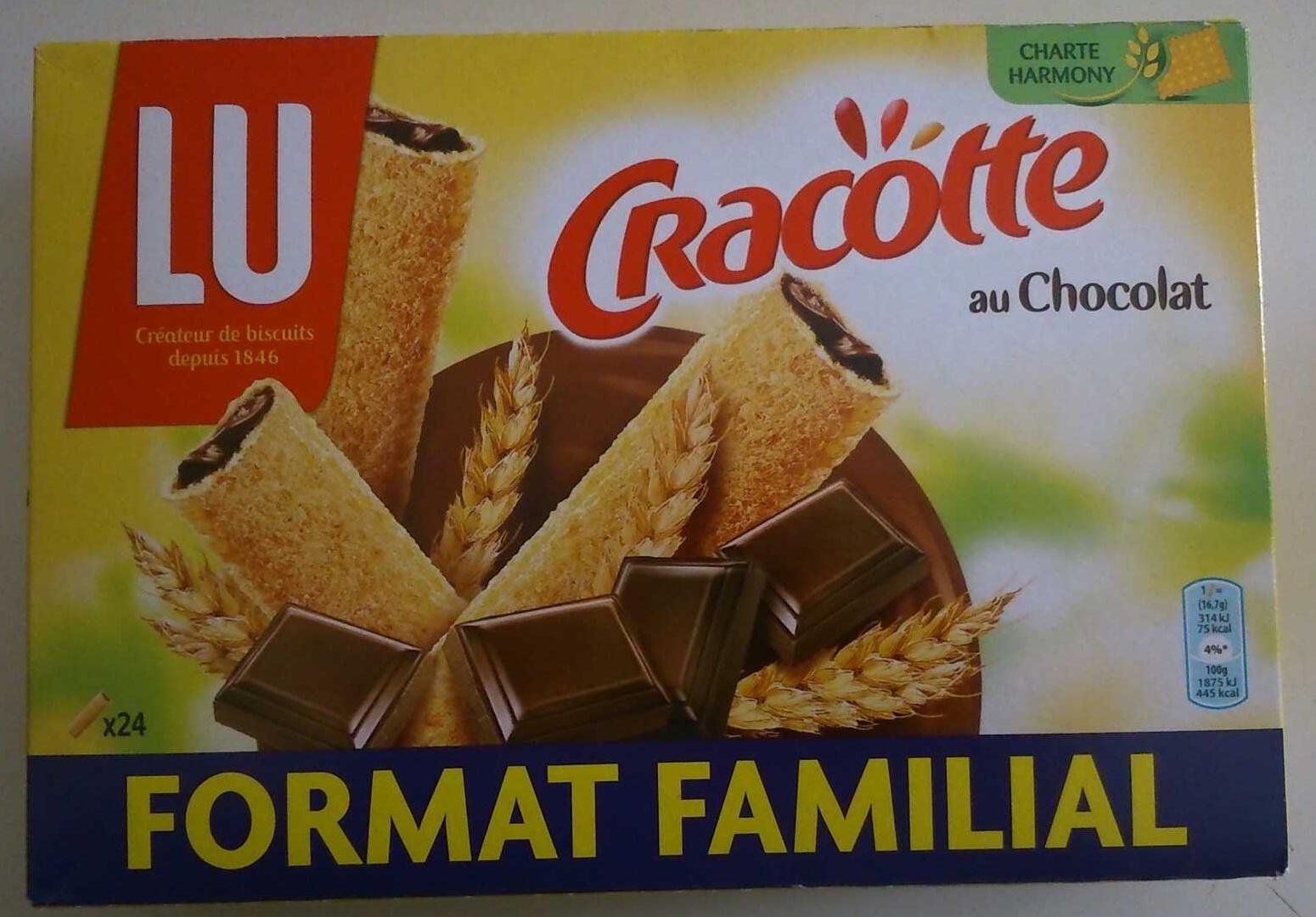 Cracotte au chocolat - Produit - fr