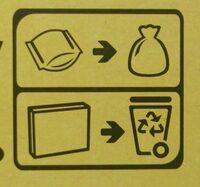 Cracotte - Instruction de recyclage et/ou informations d'emballage - fr