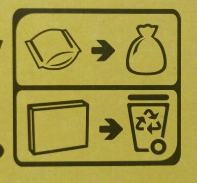 Cracotte - Recycling instructions and/or packaging information