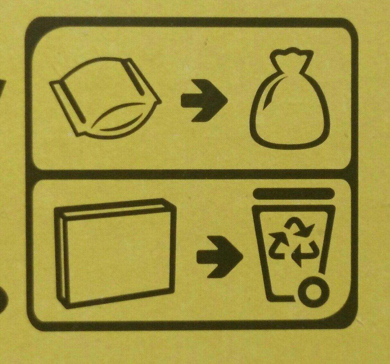 Cracotte - Istruzioni per il riciclaggio e/o informazioni sull'imballaggio - fr