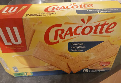 Cracotte Céréales Complètes - Product - fr