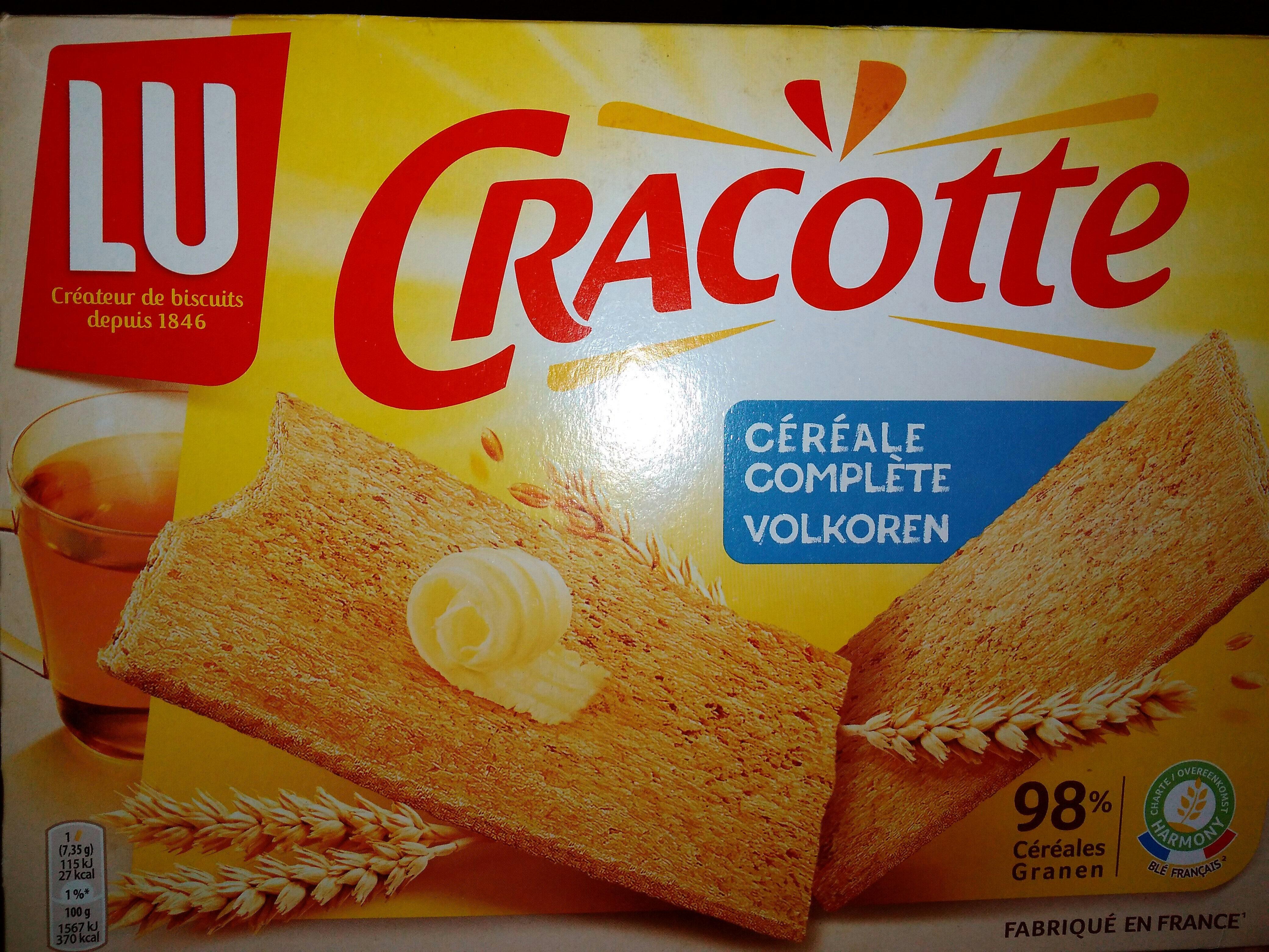 Cracotte Céréales Complètes - Produit - fr