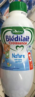 Blédilait Croissance Nature sans sucres ajoutés - Produit - fr