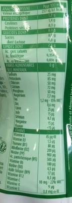 Blédilait Croissance Nature sans sucres ajoutés - Informations nutritionnelles - fr