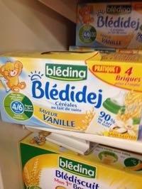 Blédidej céréales au lait de suite saveur Vanille - Produit - fr