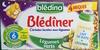 BLEDINA BLEDINER BRIQUES Légumes verts 4x250ml Dès 6 - Produit