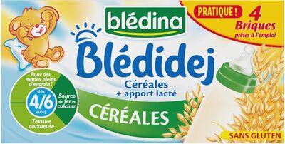 BLEDIDEJ 4x250 ml Céréales Dès 4/6 mois - Product - fr