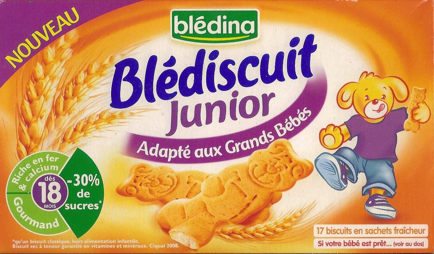 Blédiscuit Junior - Produit - fr