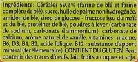 Blédiscuit Junior - Ingrédients - fr