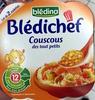 Blédichef Couscous des tout petits - Produit