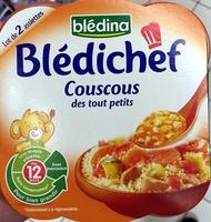 Blédichef Couscous des tout petits - Produit - fr
