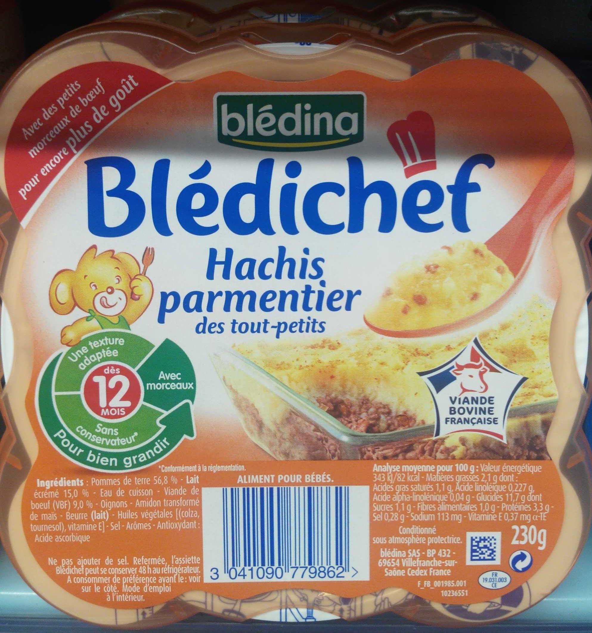 Blédichef - Hachis parmentier - Produit - fr
