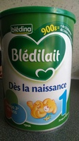 Blédilait dès la naissance - Product - fr