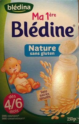 BLEDINA BLEDINE Ma 1ère BLEDINE Nature 250g Dès 4/6 Mois - Producto - fr
