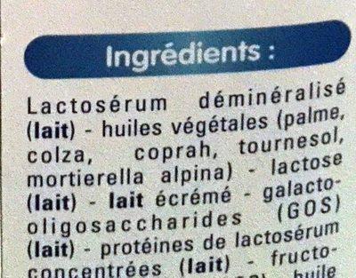 Gallia calisma - Ingrédients