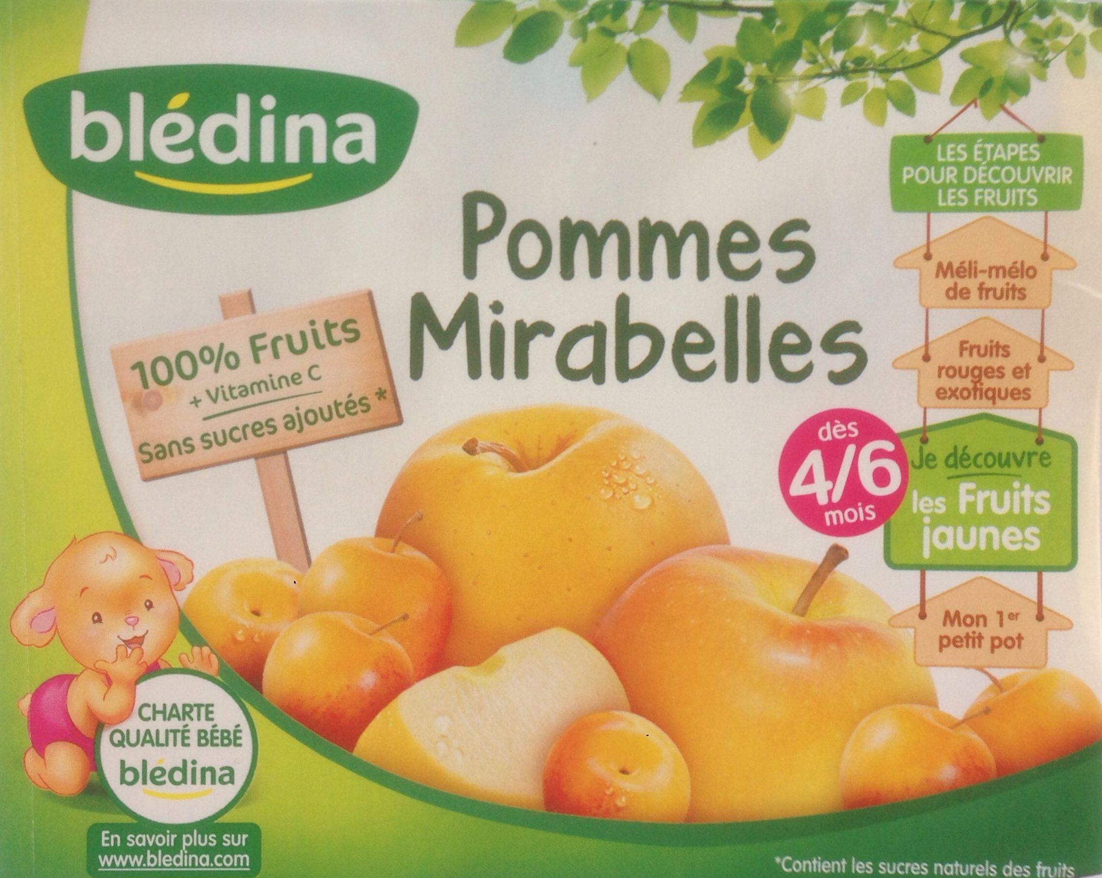 Pommes Mirabelles - Product - fr