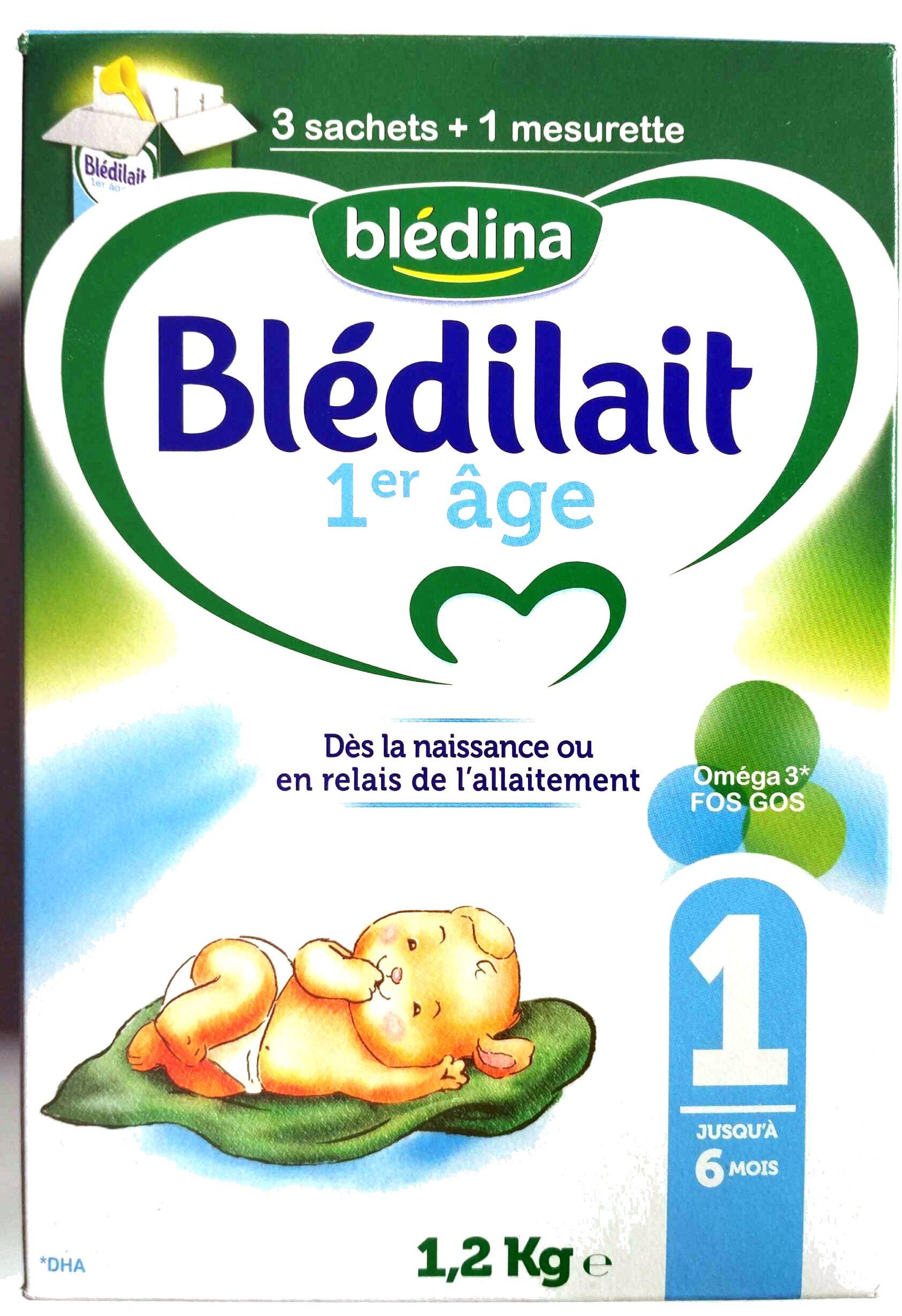 Blédilait 1er âge - Produit
