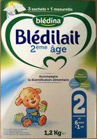 Blédilait 2ème âge - Product - fr