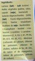 Blédilait 2ème âge - Ingrediënten - fr