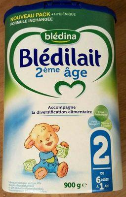 Blédilait 2ème âge - Produit - fr