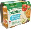BLEDINA POTS SALES Ratatouille Riz Poisson 2x200g Dès 8 Mois - Producto