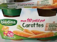 Mon 1 er petit pot carottes - Product