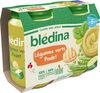 BLEDINA POTS SALES Légumes Verts Poulet 2x200g Dès 6 Mois - Producto