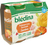 BLEDINA POTS SALES Potirmarrons Semoule Jambon 2x200g Dès 6 Mois - Producto